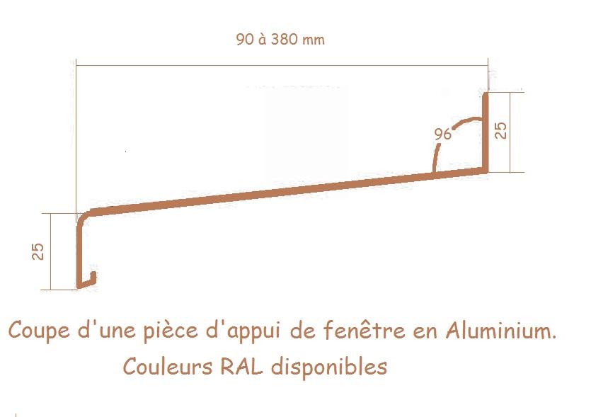 Mon projet d 39 co fen tre passive pvc uw 0 5 w m2k - Appuis de fenetre aluminium ...